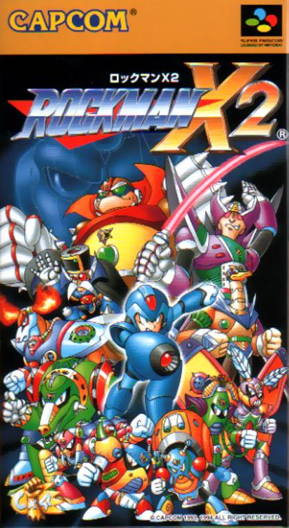 Box artwork - Mega Man X2 (Mega Man XZ: The Maverick Hunters)