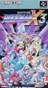 Box artwork - Mega Man X3 (Mega Man XZ: The Maverick Hunters)